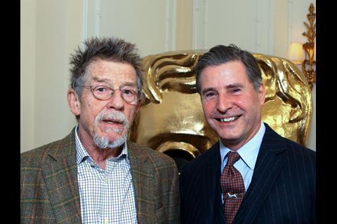 John Hurt and Jeremy Hackett